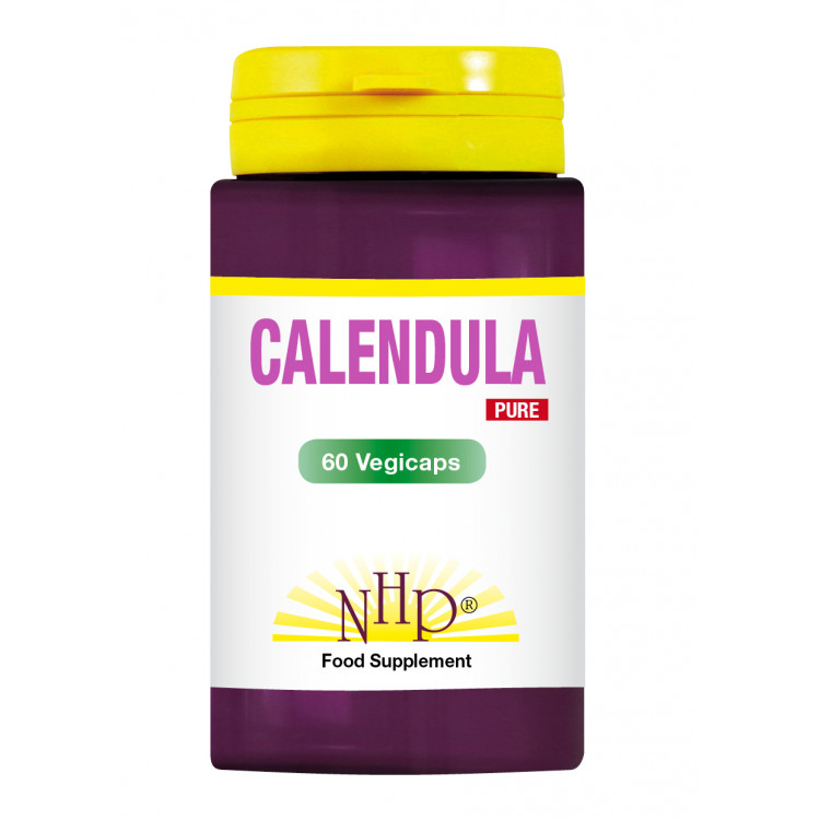 Calendula Supplements - 250 mg - Pure (60 V-Caps)