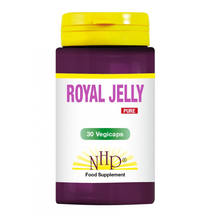 Royal Jelly Supplements - 2000 mg - Pure (30 V-Caps)