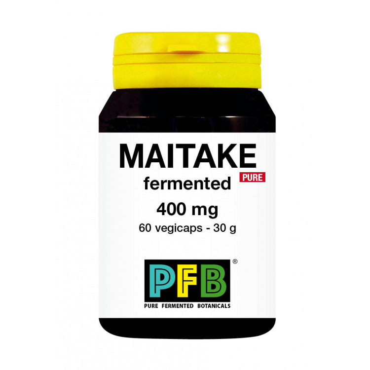 Maitake Fermented Supplements - 400 mg - Pure (60 V-Caps)