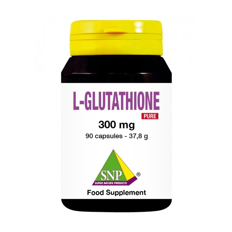 Glutathione Supplements - 300 mg - Pure (90 Caps)
