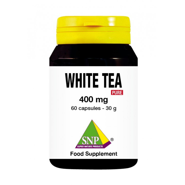 White Tea Supplements - 400 mg - Pure (60 Caps)