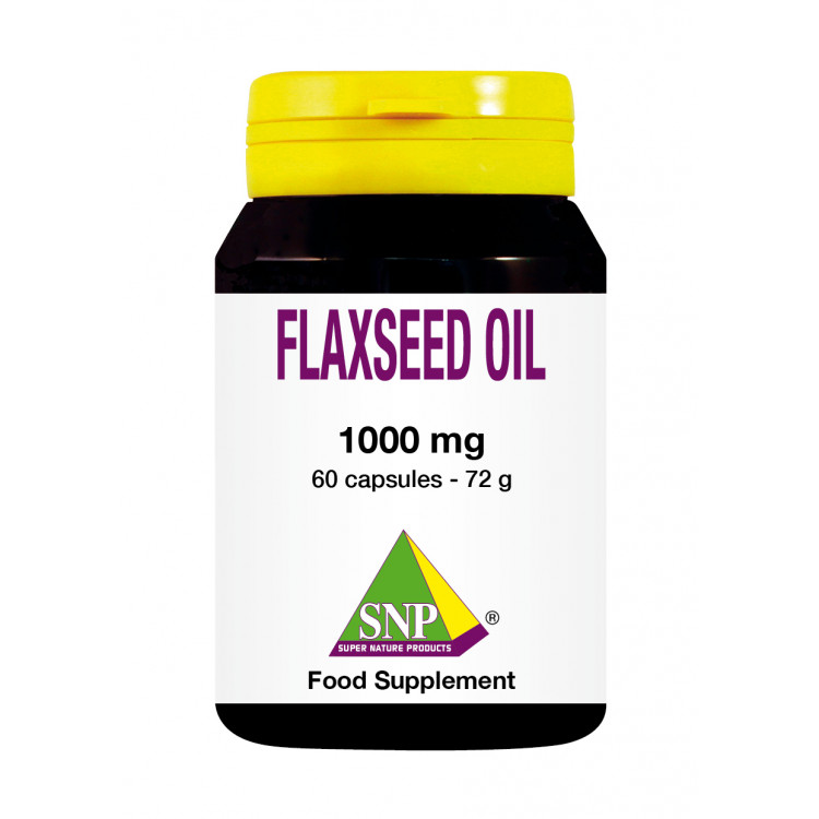 Flaxseed Oil Supplements - 1000 mg (60 Caps)
