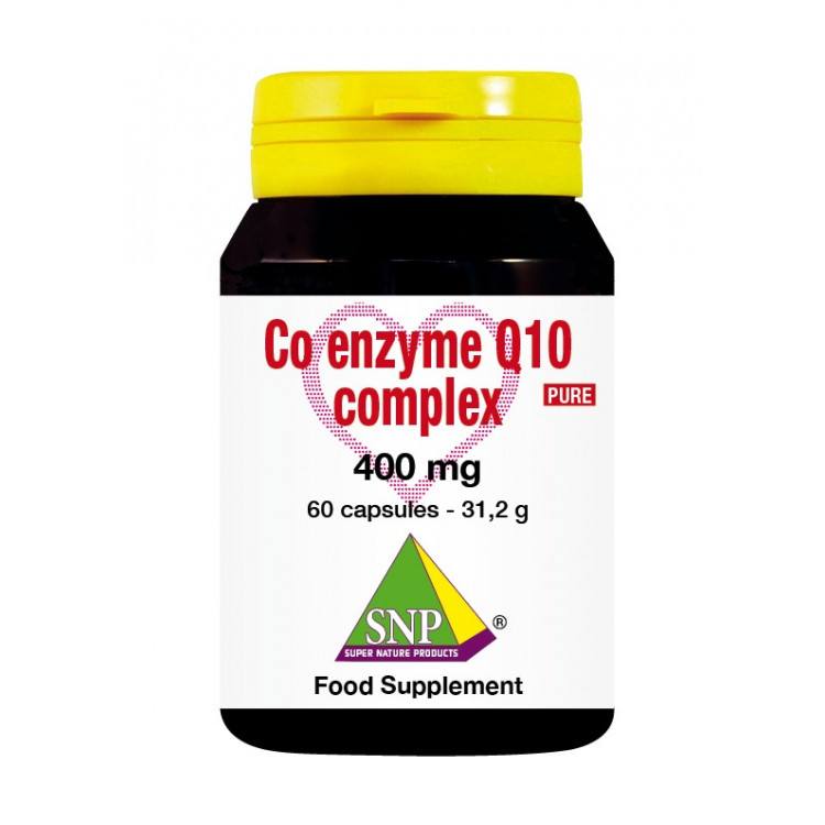 Coenzyme Q10 Complex Supplements - 400 mg - Pure (60 Caps)