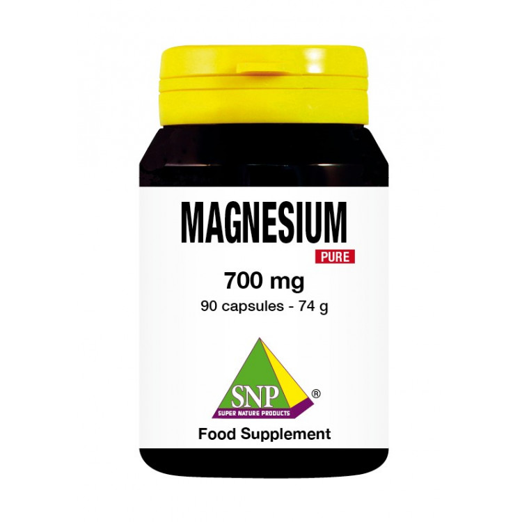 Magnesium Supplements - 700 mg - Pure (90 Caps)