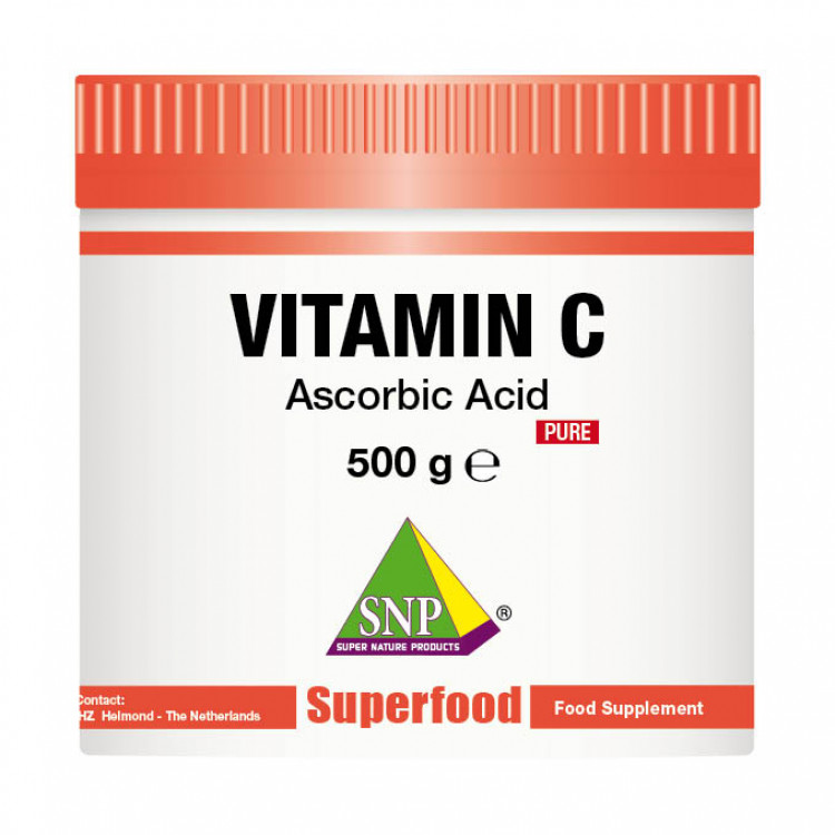 Vitamin C Supplements - 500 g - Pure (500 g)