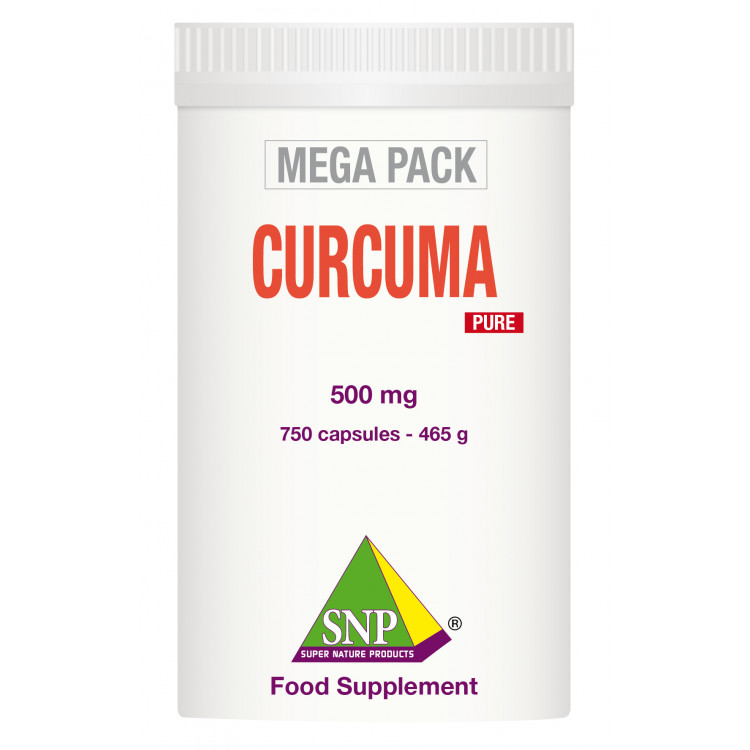 Turmeric Curcuma Supplements - Mega Pack - Pure (750 Caps)