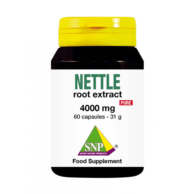 Nettle Root Extract Supplements - 4000 mg - Pure (60 Caps)