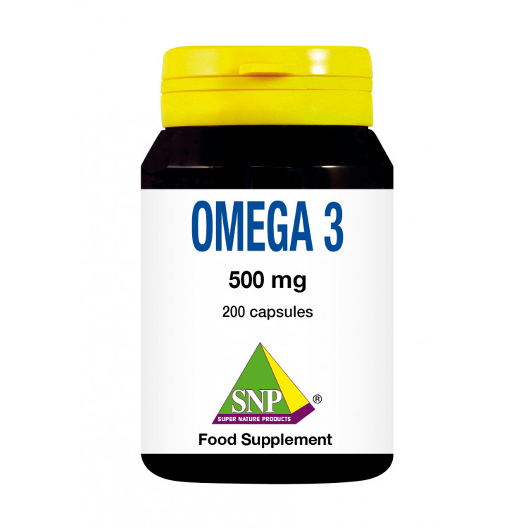 Omega 3 Supplements - 500 mg (200 Caps)