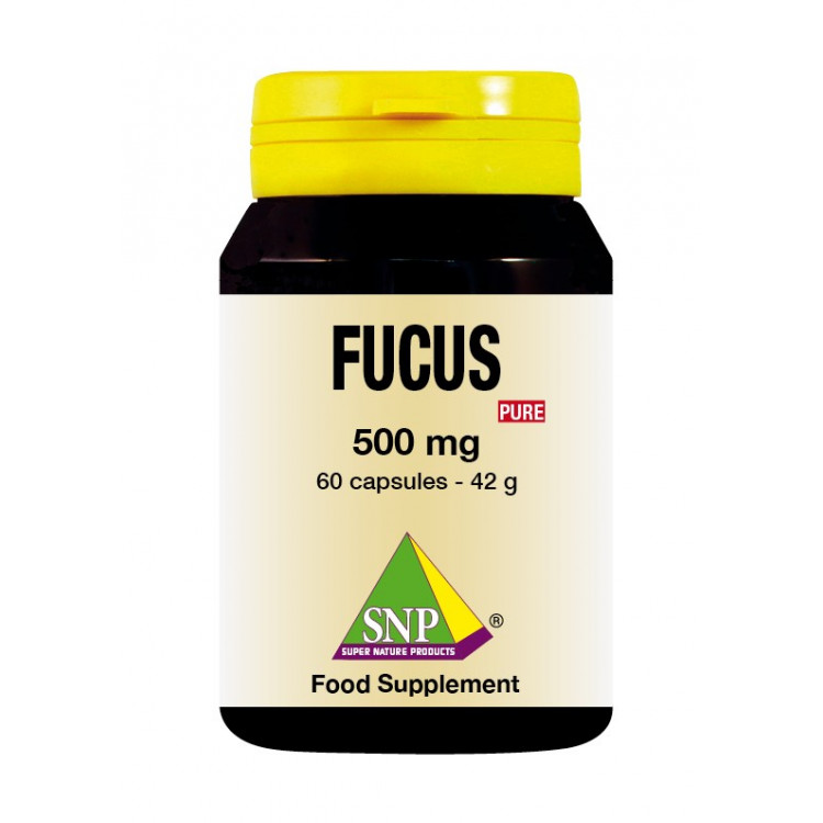 Fucus Supplements - 500 mg - Pure (60 Caps)