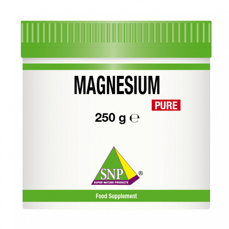 Magnesium Citrate Powder Supplements - Pure (250 g)