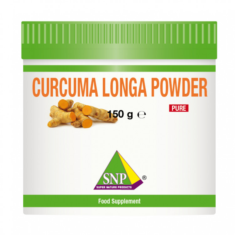 Organic Curcuma Longa Root Powder Supplements - Pure - (150 g)
