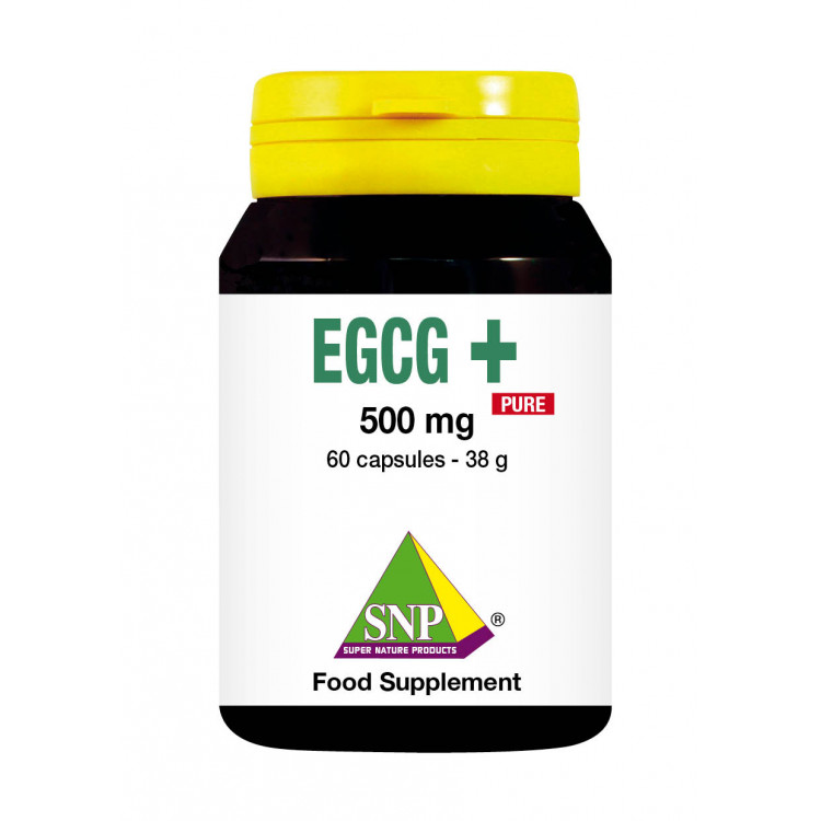 EGCG Supplements - 500 mg - Pure (60 Caps)