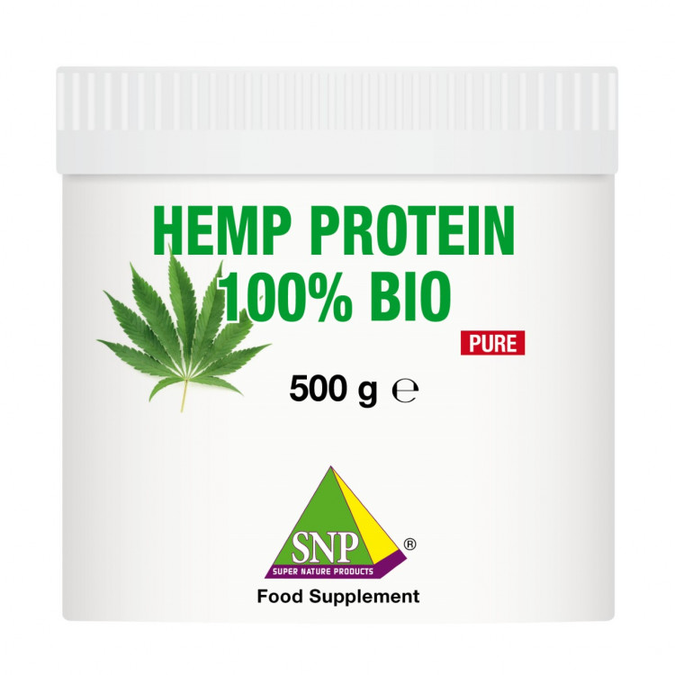 Hemp Protein Supplements - 100% Bio - Pure (500 g)