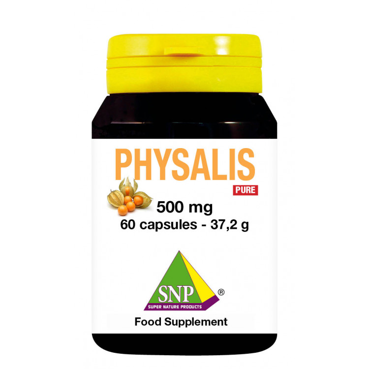 Physalis Supplements - 500 mg - Pure (60 Caps)