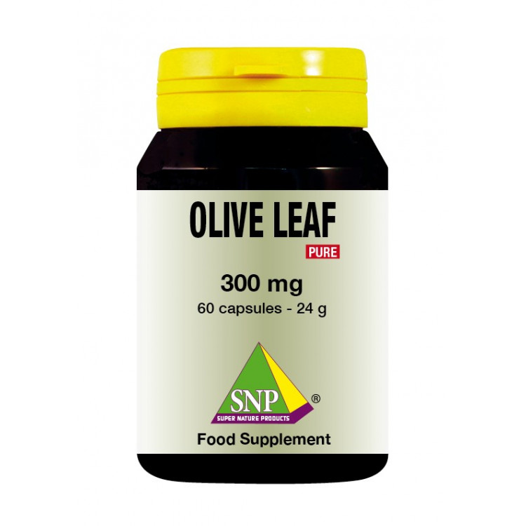 Olive Leaf Supplements - 300 mg - Pure (60 Caps)