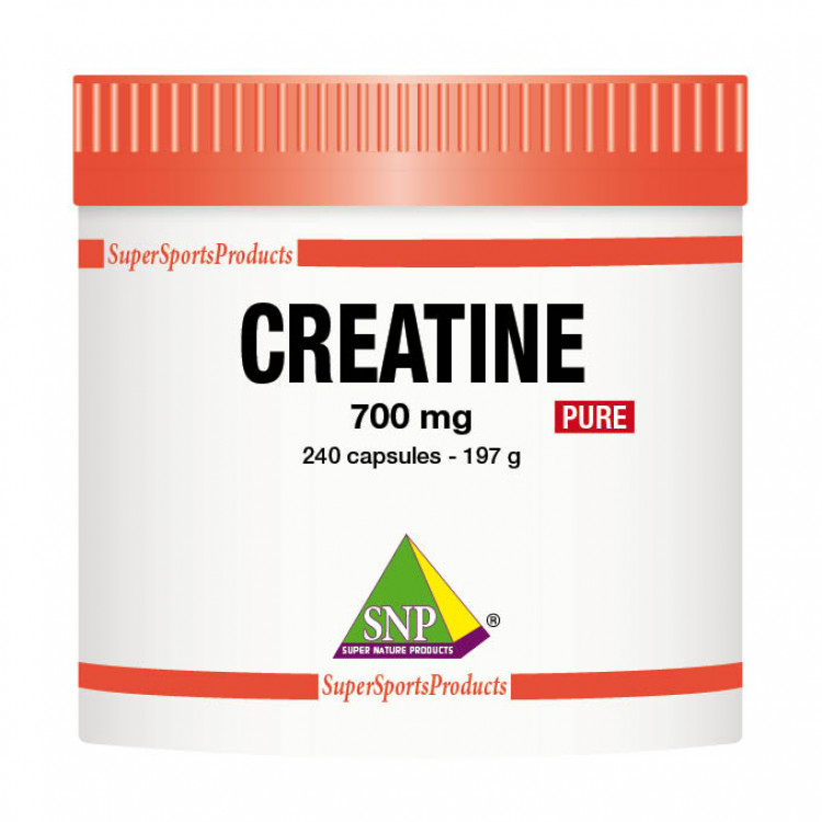 Creatine Supplements - 700 mg - Pure (240 Caps)