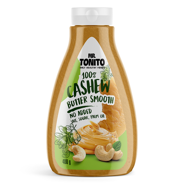 Mr. Tonito Cashewbutter Smooth 400 g